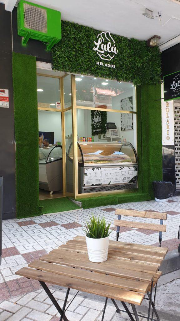 Apertura local comercial: LULÚ HELADOS en Málaga